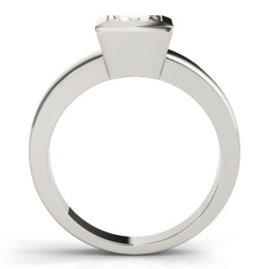 low set solitaire ring setting